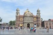 La Basílica de Santa María de Guadalupe, llamada oficialmente Insigne y Nacional Basílica de Santa María de Guadalupe, es un santuario de la iglesia católica, dedicado a la virgen María en su advocación de Guadalupe, ubicado al pie del Cerro del Tepeyac.