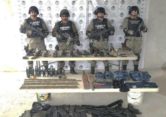 Asegura Con Nosotrosasegura: Asegura Fuerza Civil Armamento De La Delincuencia