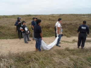 Ya son seis los cadáveres encontrados en la colonia Veracruz de esta ciudad Coatzacoalcos.
