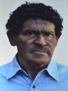 Uno de los disfraces para escribir su obra Cabeza de Turco.