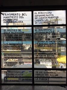 Decálogo del periodismo infrarrealista de Diego Enrique Osorno.