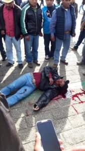El síndico del Ayuntamiento también fue asesinado.