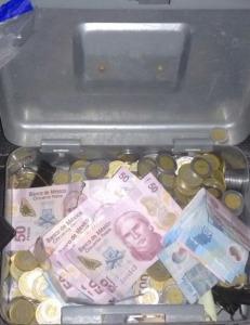Logran recuperar el dinero robado.