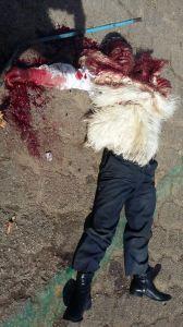 Los mataron a balazos, los manifestantes que exigían entrega de obras.