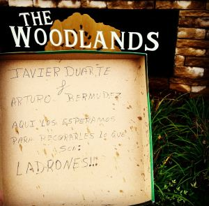Ni sus vecinos quieren a Bermúdez y Javier Duarte, en Texas.