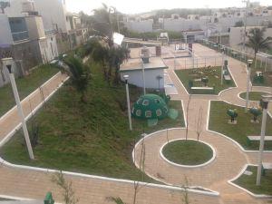 Nuevo Parque en colonia de Pensiones.