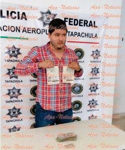 Mario Medina Garzón, lo capturan con documentos falsos de Javier Duarte y su esposa.