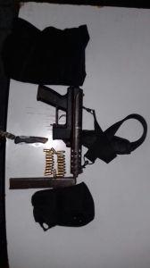 Este es el arma incautada.