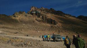 Rescate en el Pico de Orizaba.