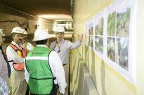 Inspecciona Julen Rementería avance del Túnel Sumergido.