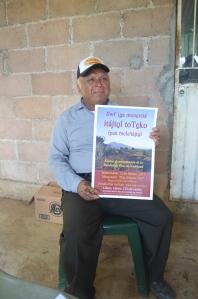 El proximo 12 de febrero en Tatahuicapan harán la presentación de la primera biblia nahuatl del sur de Veracruz. Será una gran fiesta, anticipan.