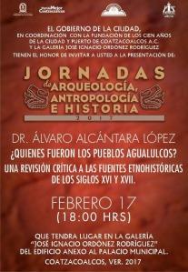 Invitan a conferencia sobre los pueblos agualulcos