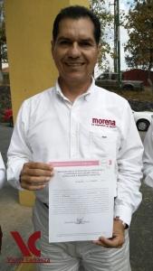Se registra Víctor Carranza, aspirante a la alcaldía de Coatzacoalcos por Morena.