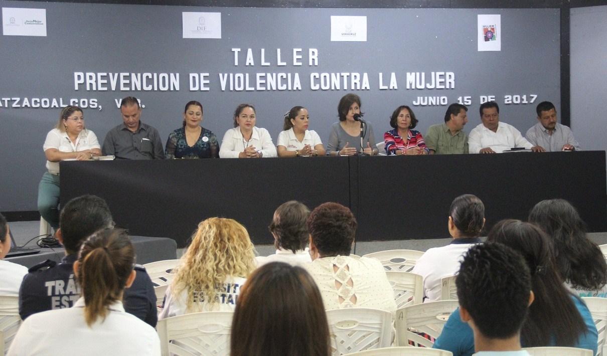 Mantienen acciones de Alerta de Violencia de Género en Coatzacoalcos