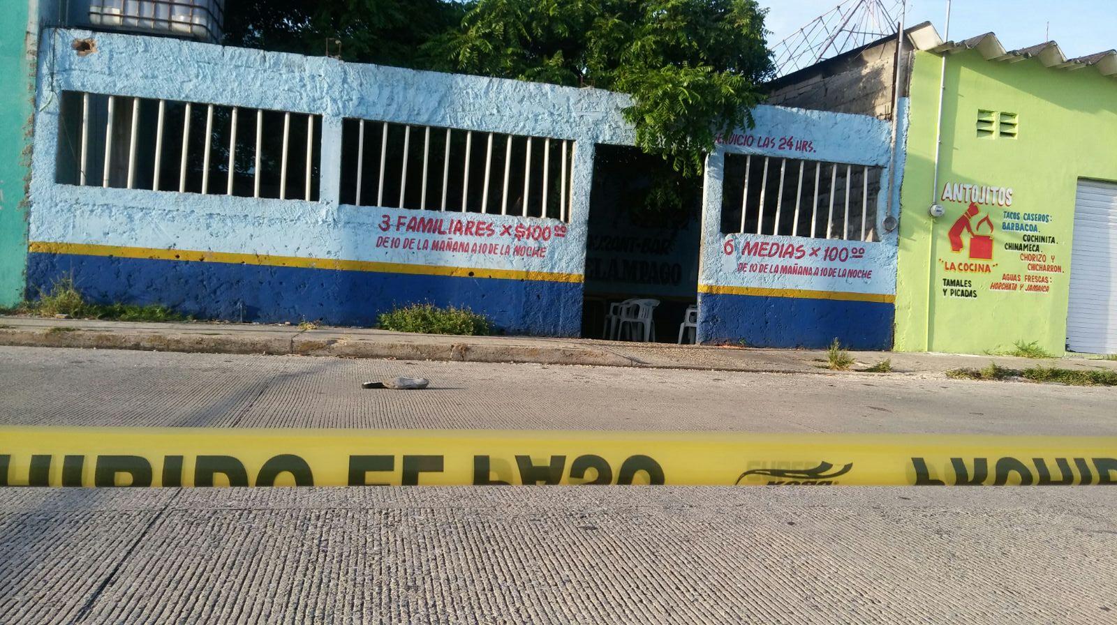 Dos ejecutados en un bar esta madrugada en Coatzacoalcos