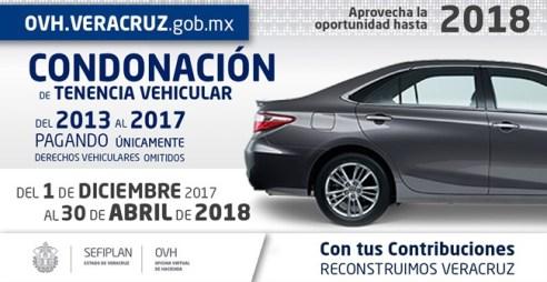 Vence el 30 de abril el subsidio a la Tenencia Vehicular